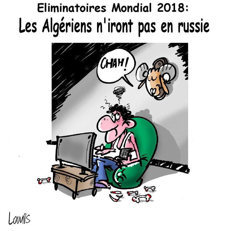 Elimination mondial 2018: Les Algériens n'iront pas en Russie