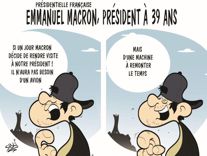 Présidentielle française: Emmanuel Macron