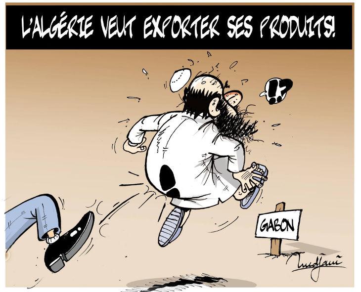 L'Algérie veut exporter ses produits