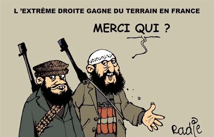 L'extreme droite gagne du terrain en France