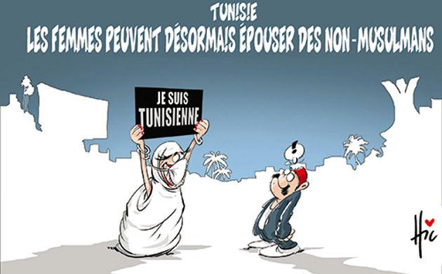 Tunisie: Les femmes peuvent désormais épouser des non-musulmans