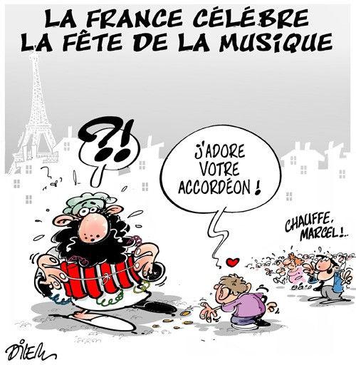 La France célèbre la fête de la musique
