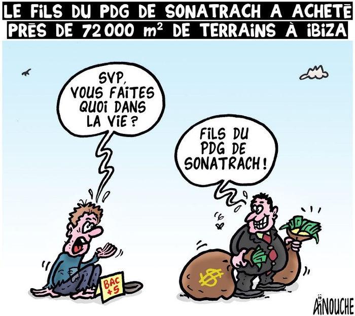 Le fils du PDG de Sonatrach a acheté près de 72.000 m² de terrains à Ibiza