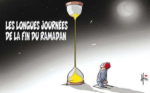 Les longues journées de la fin du ramadan