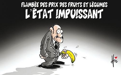 Flambée des prix des fruits et légumes: L'état impuissant