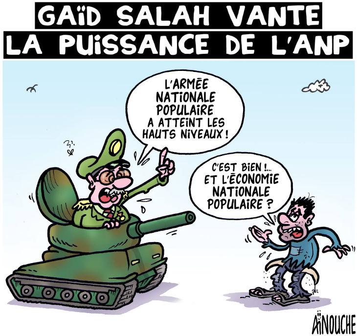 Gaïd Salah vvante la puissance de l'ANP