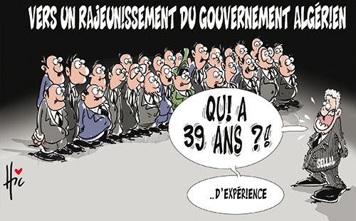 vers un rajeunissement du gouvernement algérien