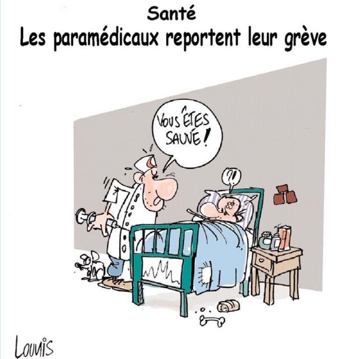 Santé: Les paramédicaux reportent leur grève