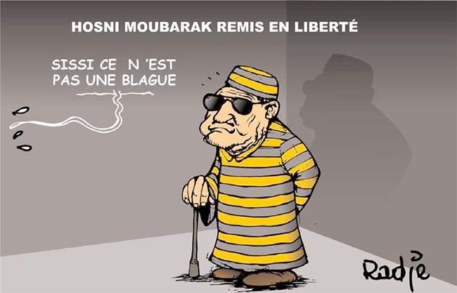 Hosni Moubarak remis en liberté