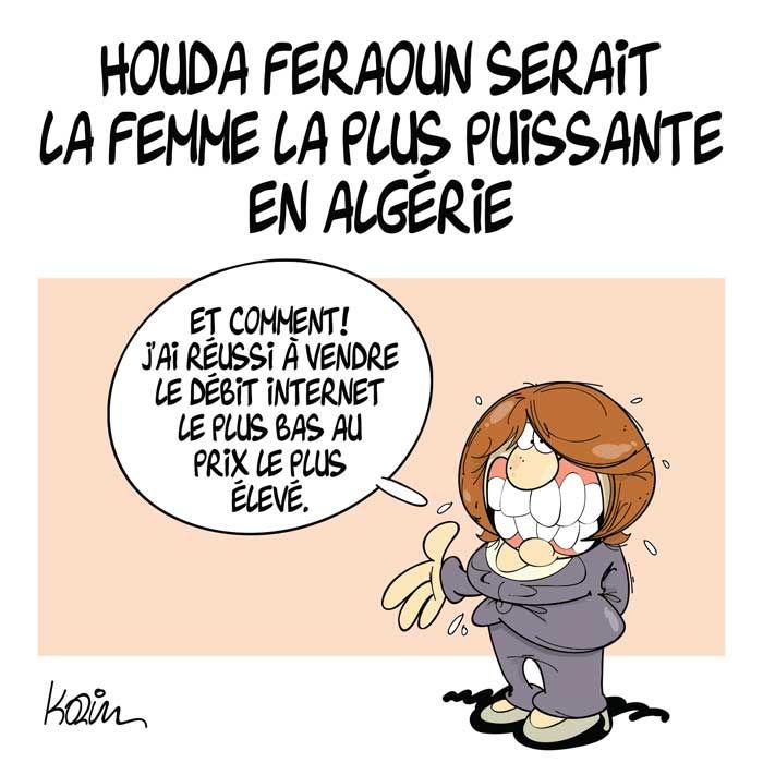 Houda Feraoun serait la femme la plus puissante en Algérie