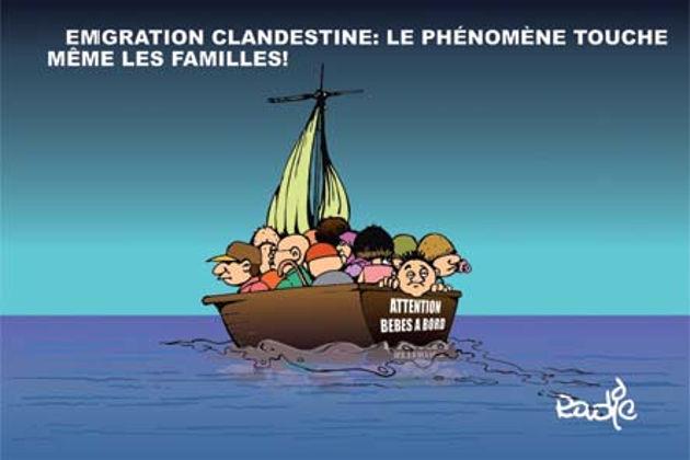 immigration clandestine: Le phénomène touche même les familles