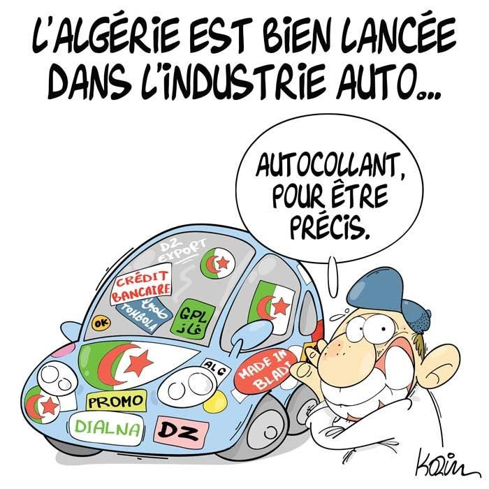 L'Algérie est bien lancée dans l'industrie auto