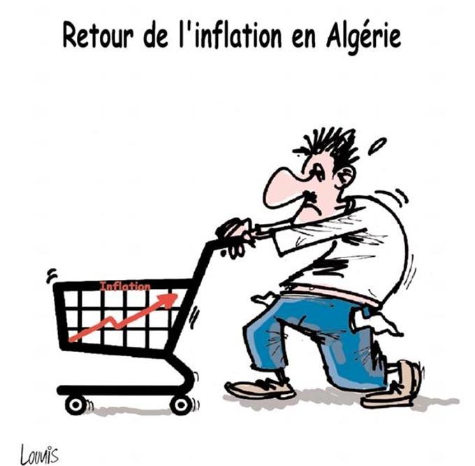 Retour de l'inflation en Algérie