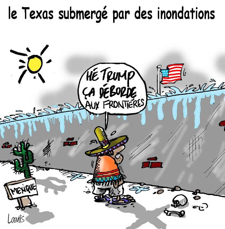 Le Texas submergé par des inondations