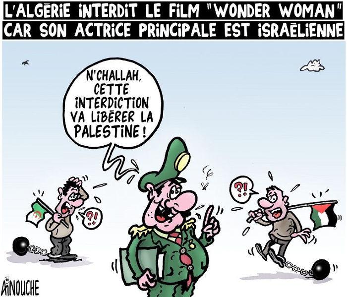 """L'Algérie interdit le film """"Wonder woman"""" car son actrice principale est israélienne"""