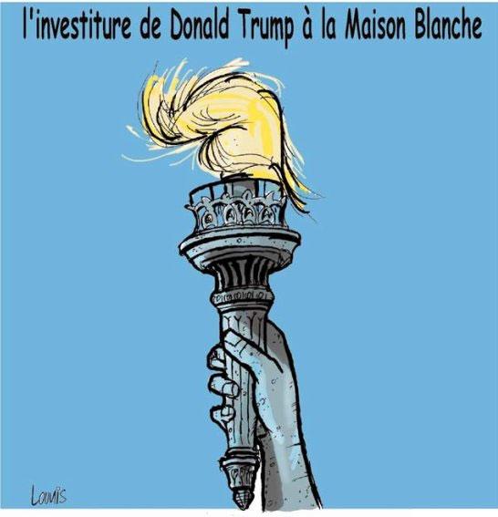 L'investiture de Donald Trump à la maison blanche