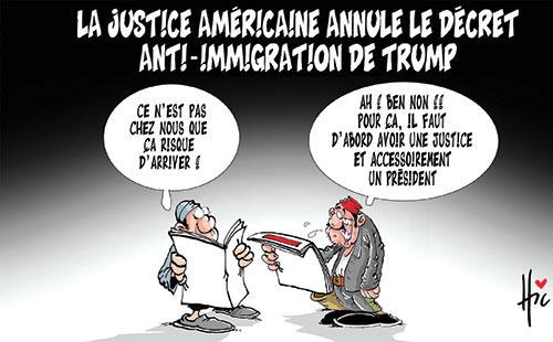La justice américaine annule le décret anti-immigration de Trump