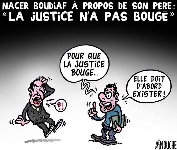"""Nacer Boudiaf à propos de son père: """"La justice n'a pas bougé"""""""