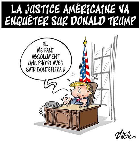 La justice américaine va enquêter sur Donald Trump