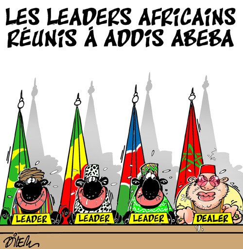 Les leaders africains réunis à Addis Abeba