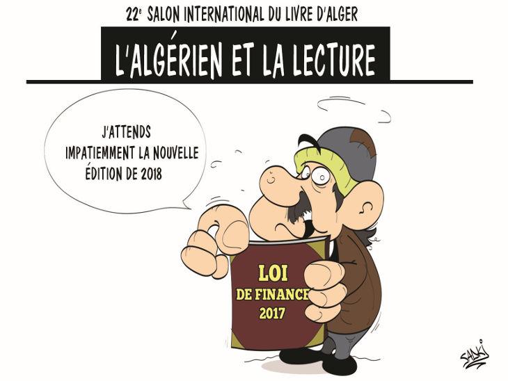 22e salon international du livre d'Alger: L'algérien et la lecture