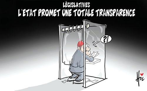 Législatives: L'état promet une totale transparence