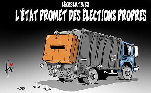 Législatives: L'état promet des élections propres