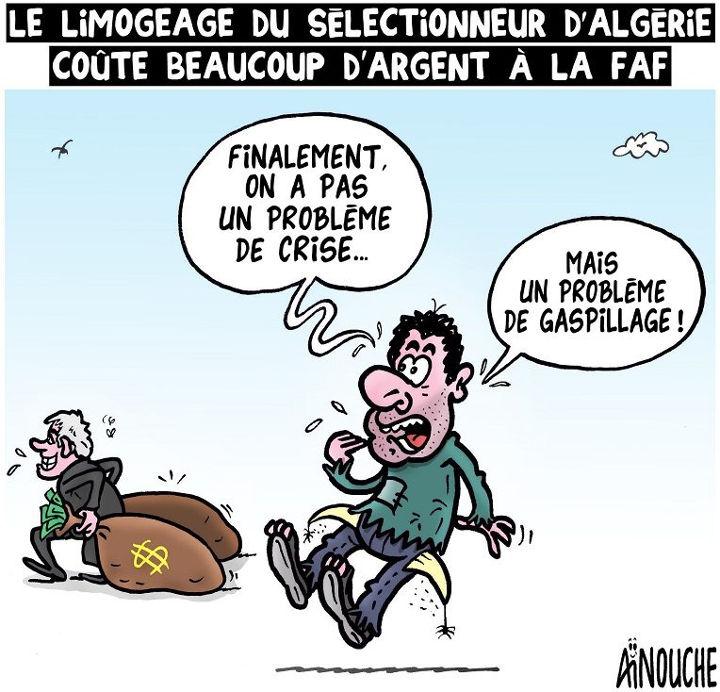 Le limogeage du sélectionneur d'Algérie coûte beaucoup d'argent à la FAF