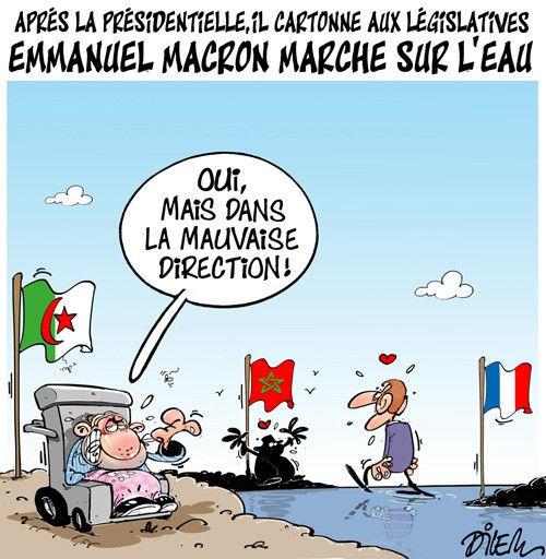 Après la présidentielle, il cartonne aux législatives: Emmanuel Macron marche sur l'eau