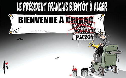 Le président français bientôt à Alger