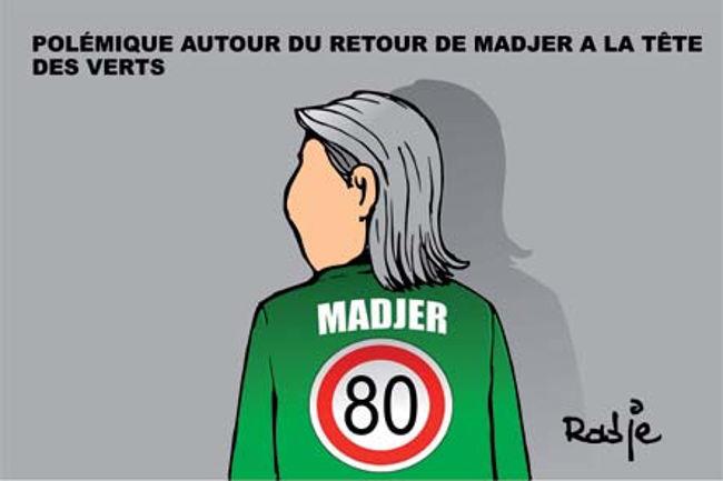 Polémique autour du retour de Madjer à la tête des verts