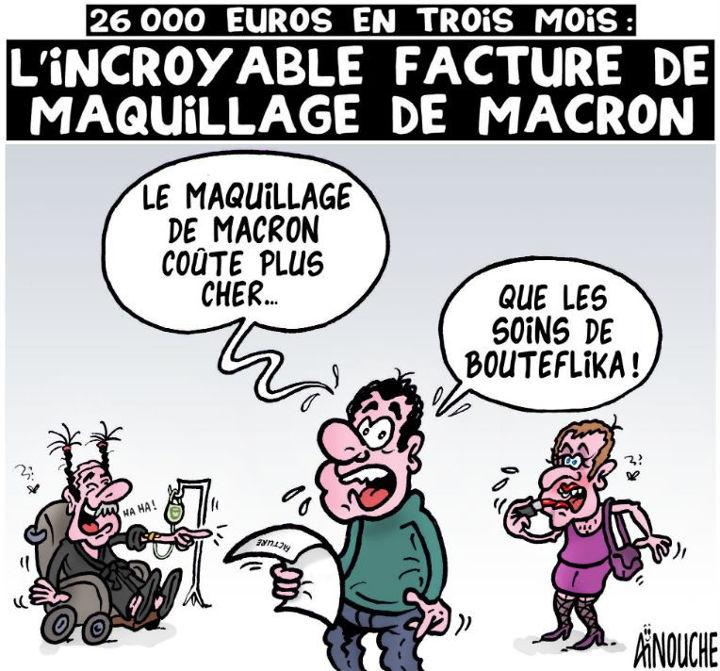 26000 euros en trois mois: L'incroyable facture de maquillage de Macron