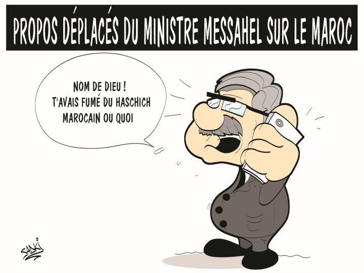 Propos déplacés du ministre Messahel sur le Maroc