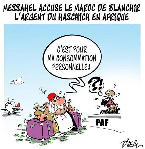 Messahel accuse le Maroc de blanchir l'argent du haschich en Afrique