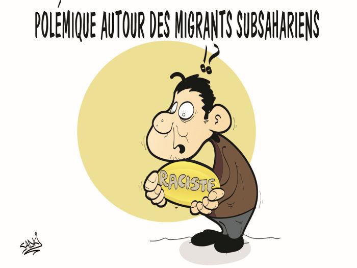 Polémique autour des migrants subsahariens