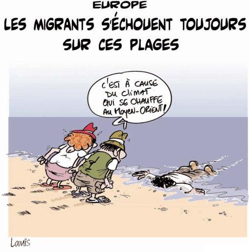 Europe: Les migrants s'échouent toujours sur ces plages