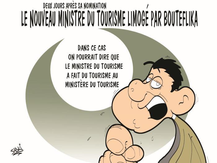 Deux jours après sa nomination: Le nouveau ministre du tourisme limogé par Bouteflika