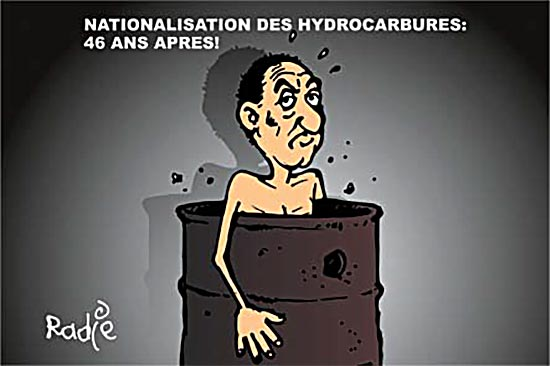 Nationalisation des hydrocarbures