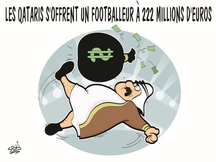 Les Qataris s'offrent un footballeur à 222 millions d'euros