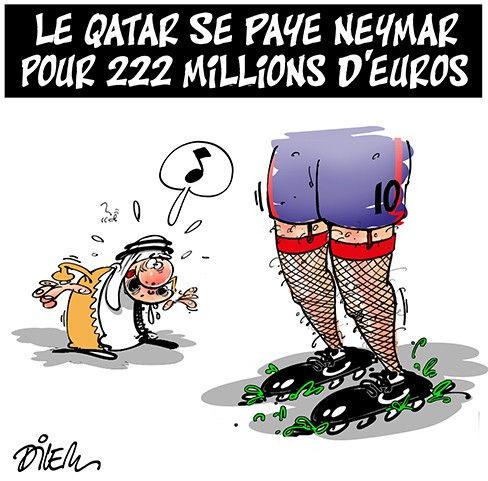 Le Qatar se paye Neymar pour 222 millions d'euros