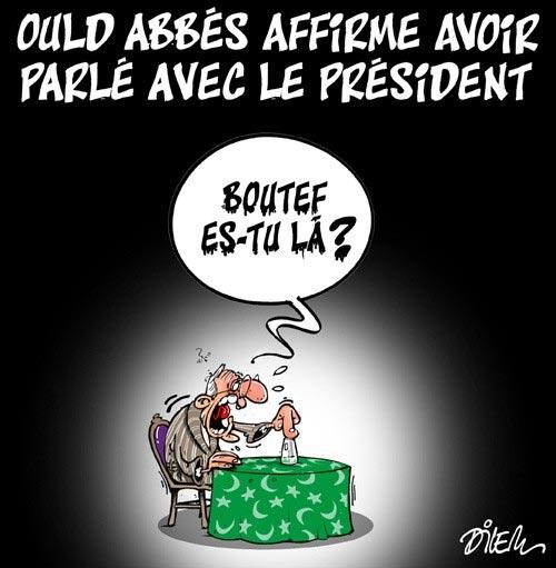 Ould Abbès affirme avoir parlé avec le président