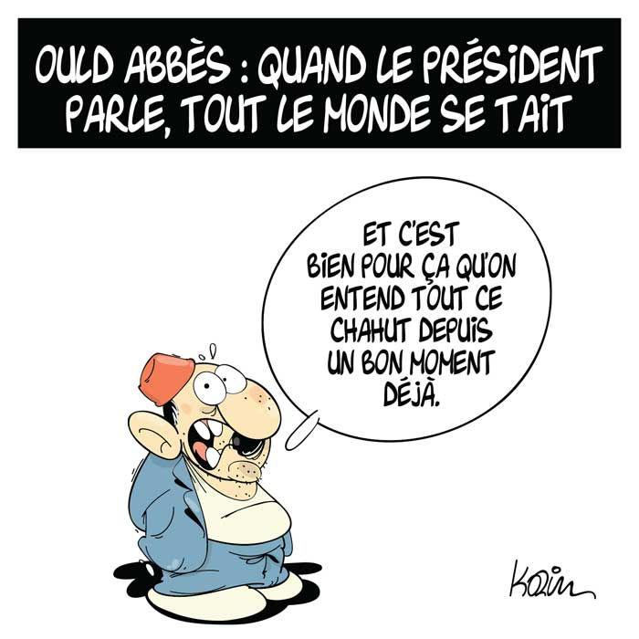 Ould Abbès: Quand le présient parle, tout le monde se tait