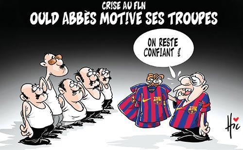Crise du FLN: Ould Abbès motive ses troupes