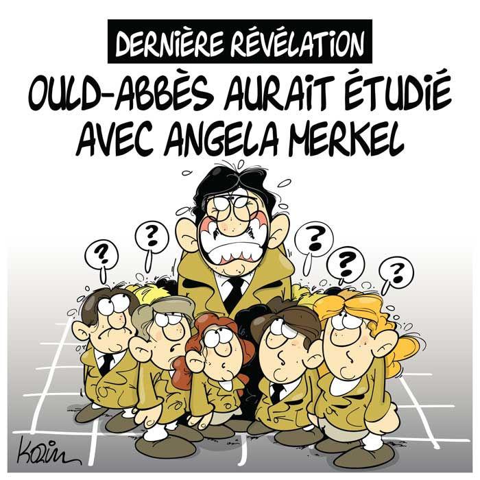 Dernière révélation: Ould-Abbès aurait étudié avec Angela Merkel