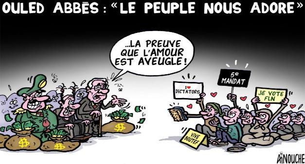 """Ould Abbès: """"Le peuple nous adore"""""""