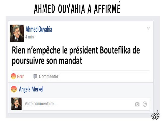Ahmed Ouyahia a affirmé
