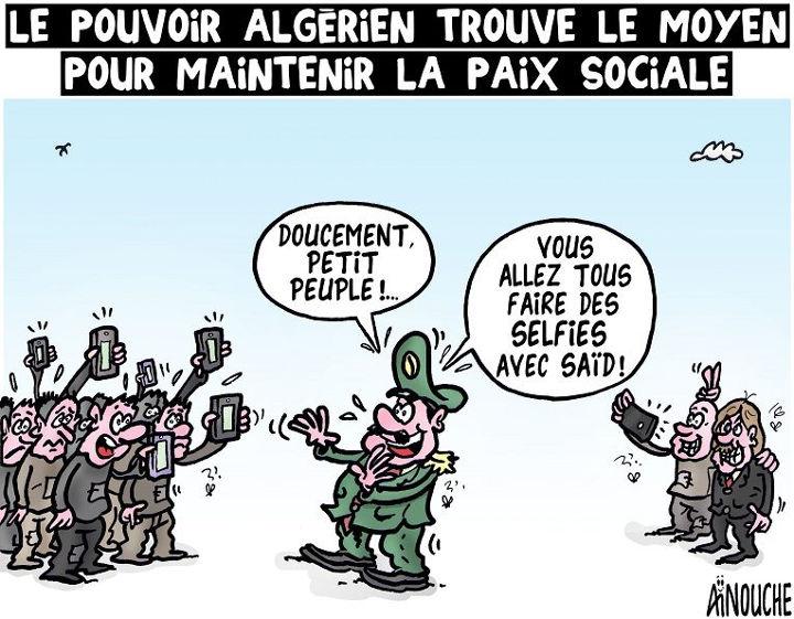 Lepouvoir algérien trouve le moyen pour maintenir la paix sociale