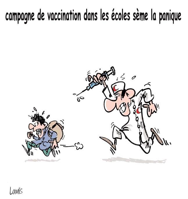La campagne de vaccination dals les écoles sème la panique