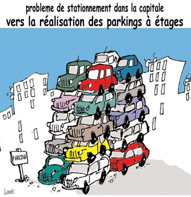 Problème de stationnement dans la capitale: Vers la réalisation des parkings à étages