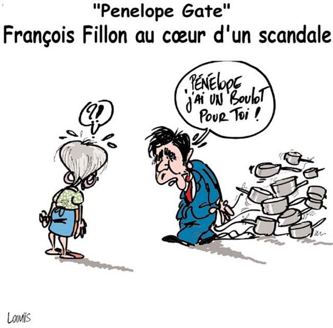 Penelope gate: François Fillon au coeur d'un scandale
